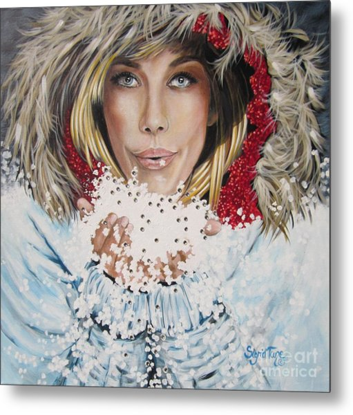 Remarkable Russian Girl.            From The Attitude Girls  Metal Print