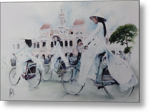 Miss Saigon Metal Print