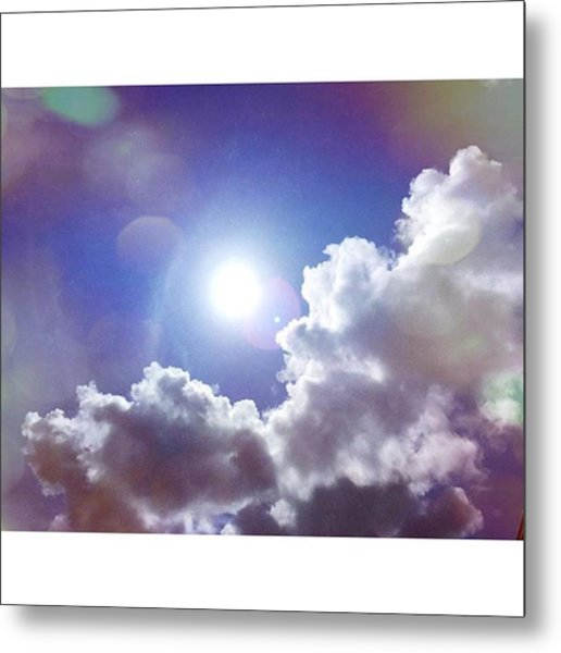 Missing The Sunshine Today #mobilepics Metal Print