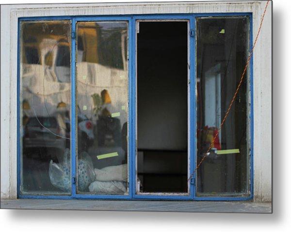 Missing Window Pane Metal Print by Prakash Ghai