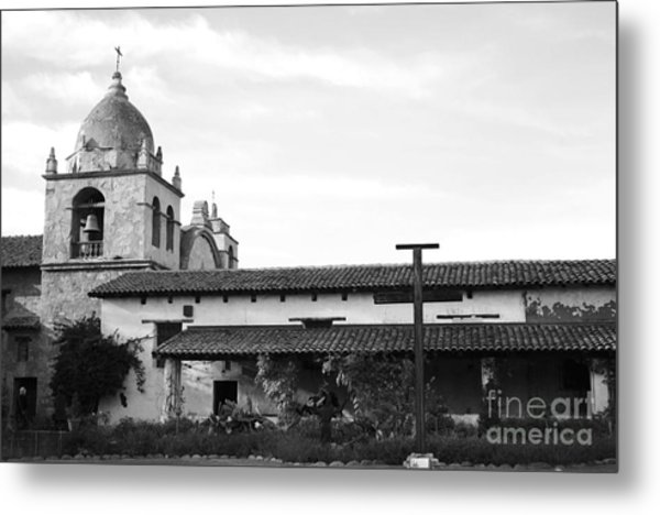 Mission San Carlos Borromeo De Carmelo No1 Metal Print by Mic DBernardo