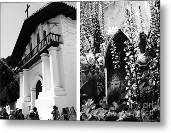 Mission San Francisco De Asis Aka Mission Dolores No1 Metal Print by Mic DBernardo
