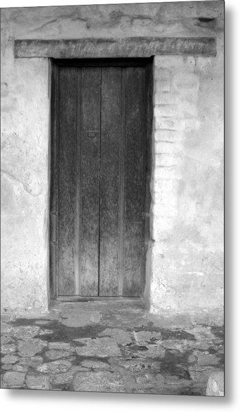 Mission San Juan Capistrano Doors Metal Print