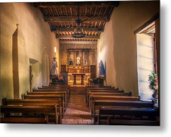 Mission San Juan Capistrano Chapel Metal Print