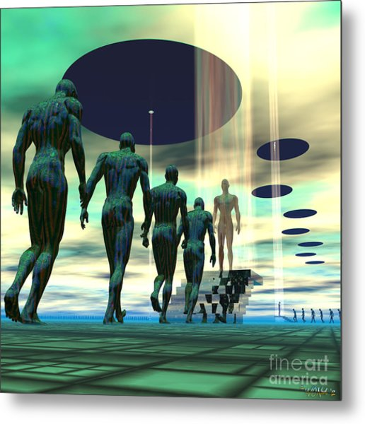 Mission To Earth Metal Print