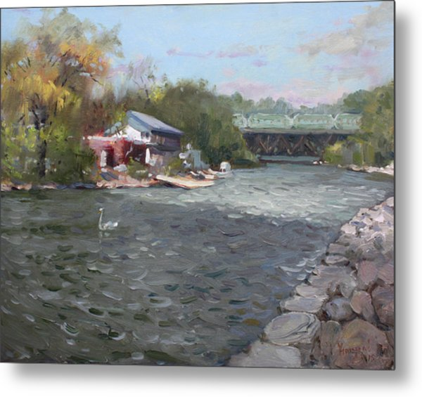 Mississauga Canoe Club Metal Print