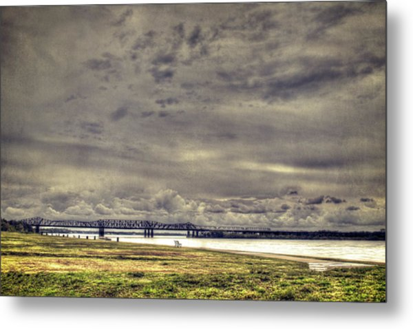 Mississipi River Metal Print