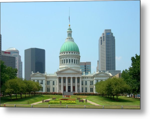 Missouri State Capitol Building Metal Print