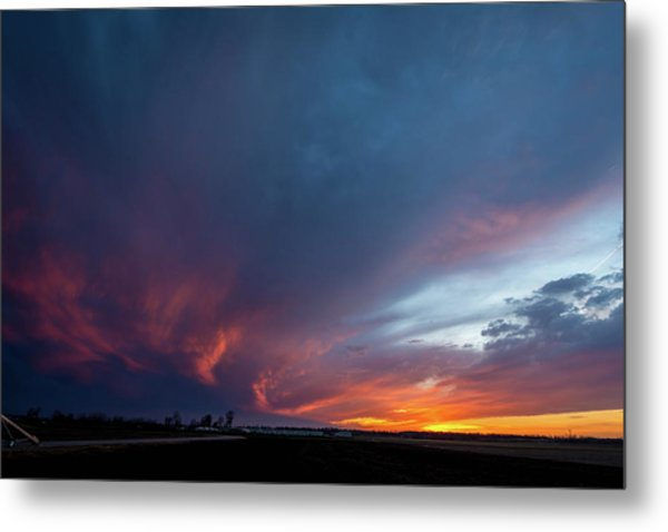 Missouri Sunset Metal Print