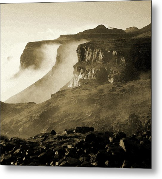 Metal Print featuring the photograph Mist In Lesotho by Susie Rieple