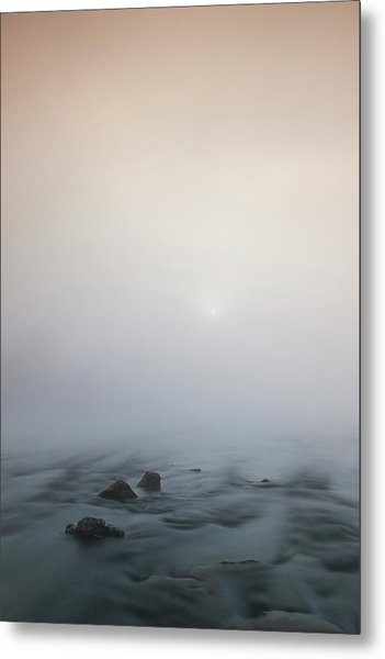 Metal Print featuring the photograph Mist Over The Third Stone From The Sun by Davor Zerjav