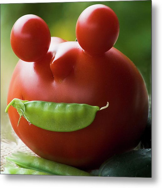 Mister Tomato Metal Print