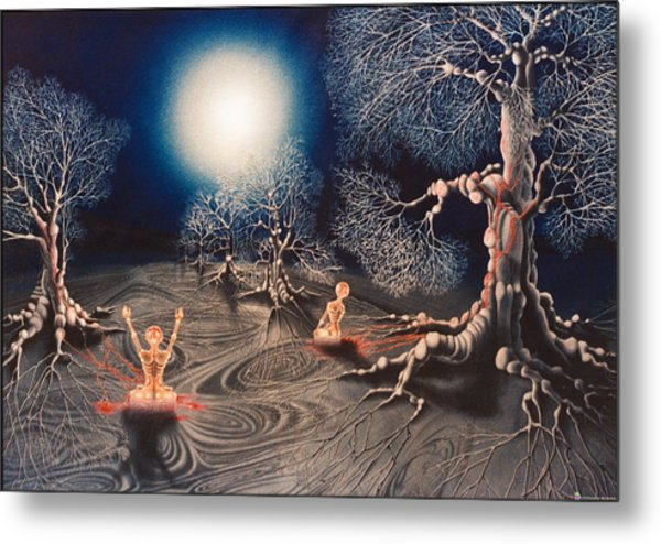 Mistery Of Cosmic Obsession Metal Print