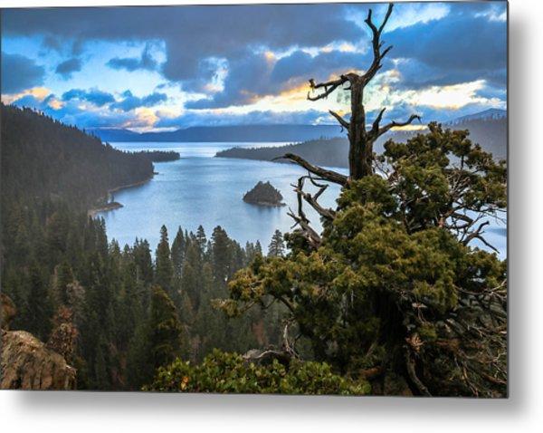 Mistic Tahoe Sunrise Metal Print
