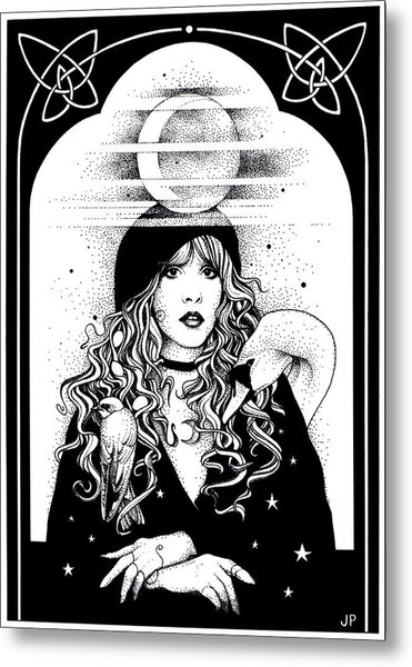 Mistress Of My Faith Metal Print