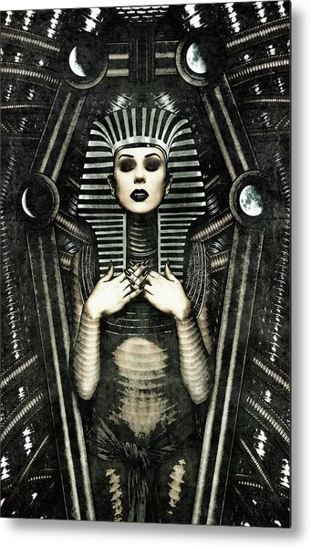 Mistress Of The House Metal Print