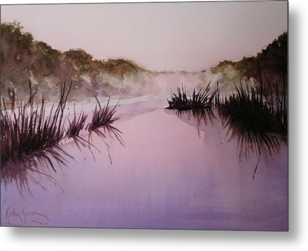Misty Dawn Metal Print
