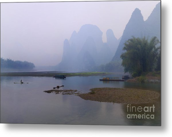 Misty Early Morning Metal Print by PuiYuen Ng