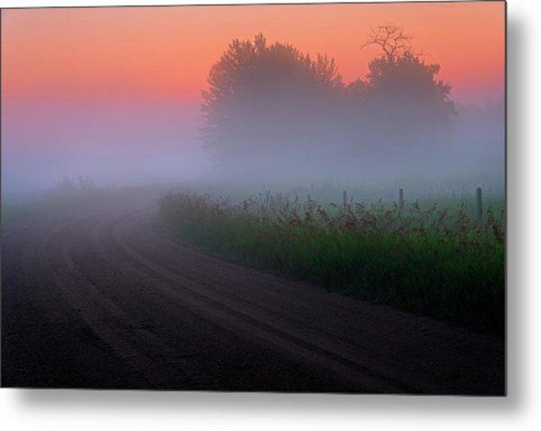 Misty Mornings Metal Print