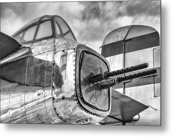 Mitchell Tail Guns Metal Print