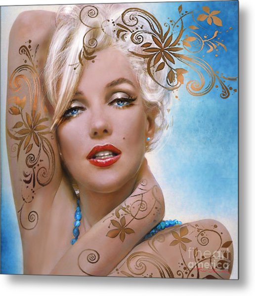 Mm 127 Deco Metal Print