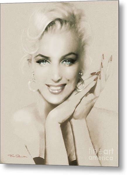 Mm 133 Sepia Metal Print