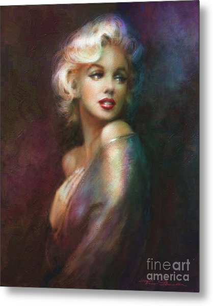 Mm Ww Colour Metal Print
