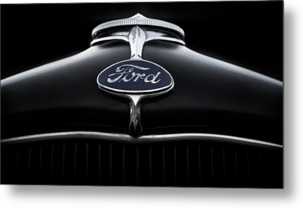 Model A Ford Metal Print