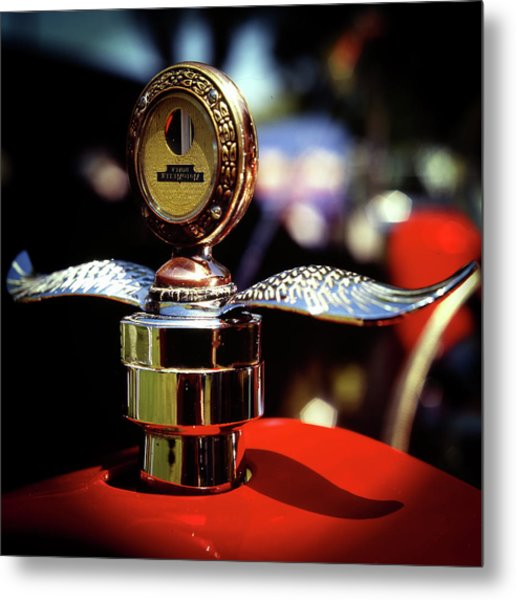 Model T Tempreature Gauge Metal Print