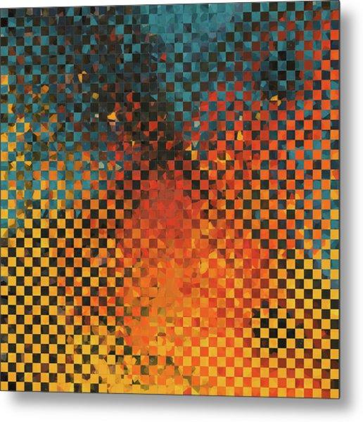Modern Art - Pieces 14 - Sharon Cummings Metal Print