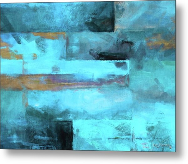 Modern Contemporary 5 Metal Print
