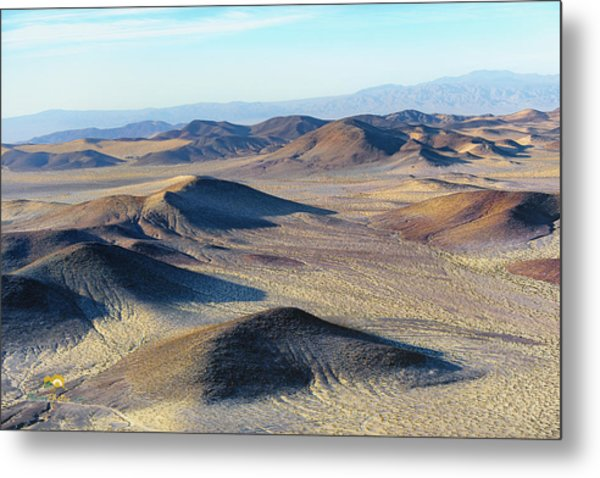 Metal Print featuring the photograph Mojave Desert by Jim Thompson