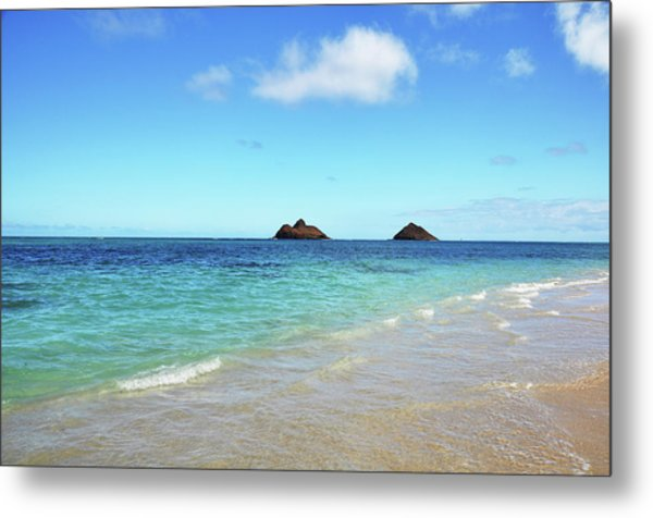 Mokulua Islands Metal Print