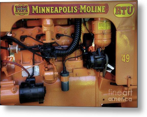 Moline Engine Metal Print