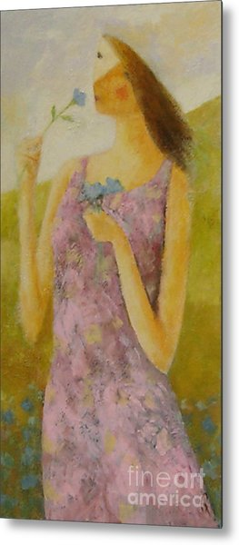 Molly Bloom Metal Print