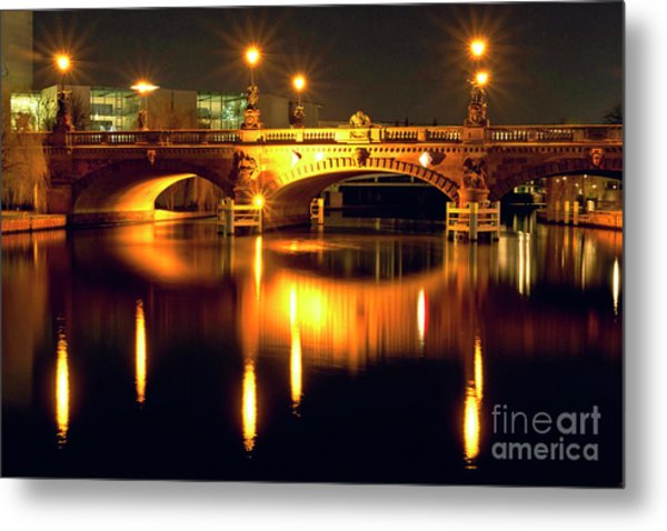 Nocturnal Sound Of Berlin Metal Print