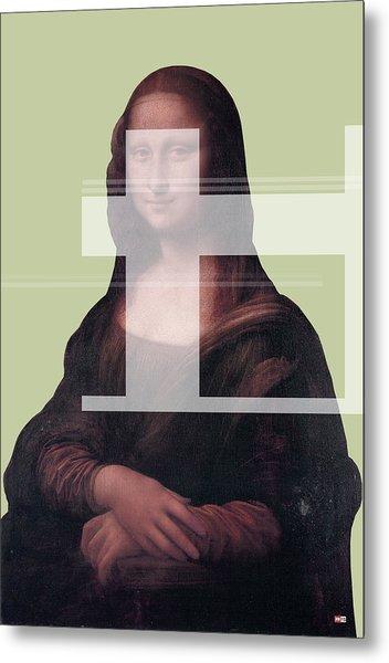 Mona 1 Metal Print