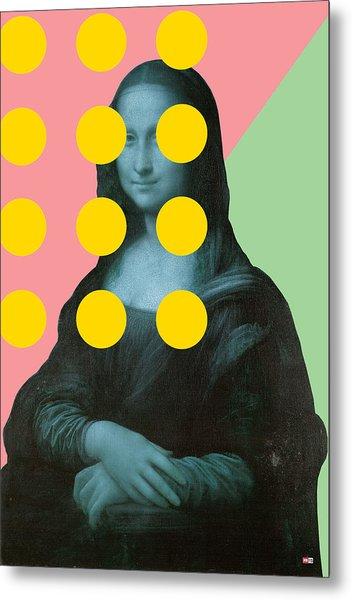 Mona 2 Metal Print