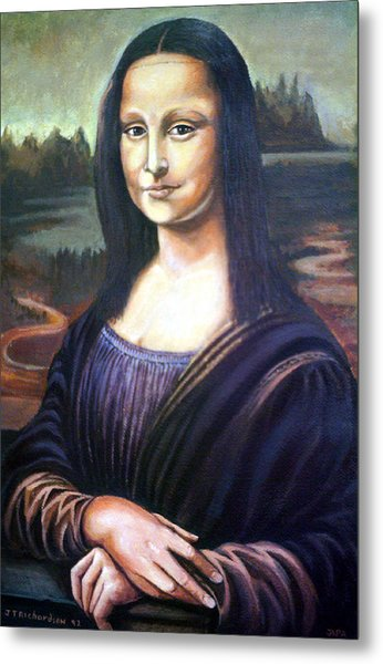 Mona Liisa Metal Print by James Richardson