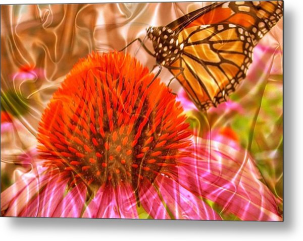 Monarch Mirage Metal Print