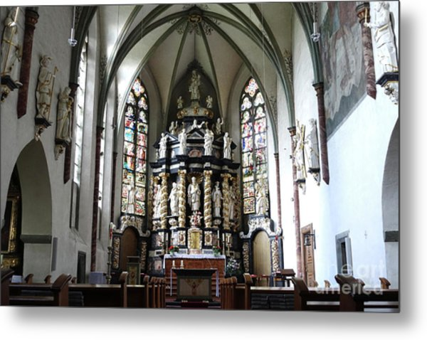 Monastery Church Oelinghausen, Germany Metal Print