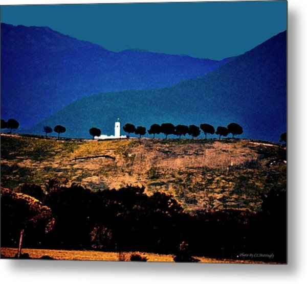 Monastery In Italy Metal Print