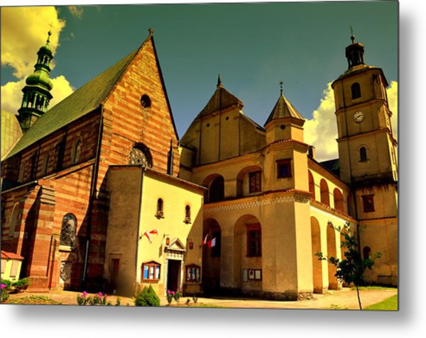 Monastery In The Wachock/poland Metal Print