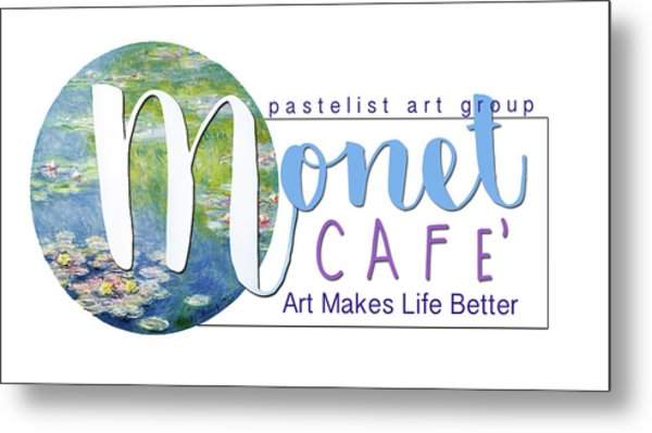 Monet Cafe' Products Metal Print