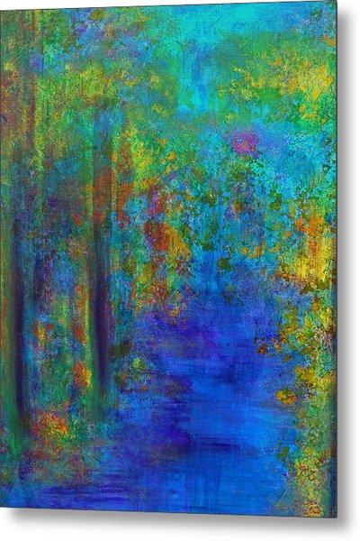 Monet Woods Metal Print