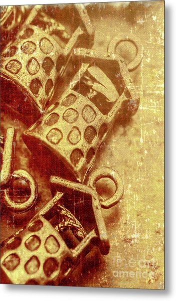 Monetary Wells Metal Print