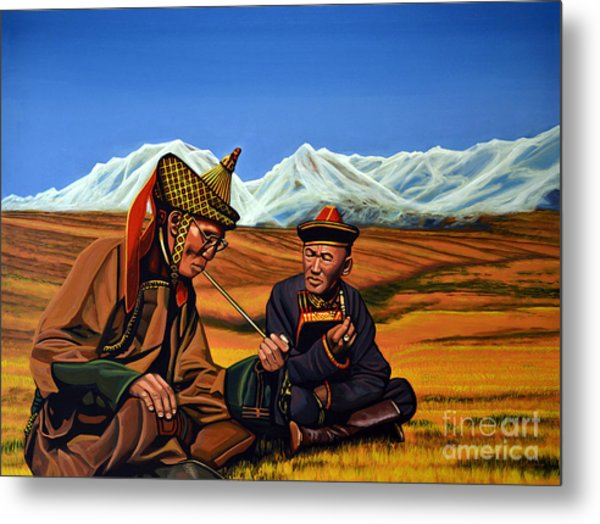 Mongolia Land Of The Eternal Blue Sky Metal Print