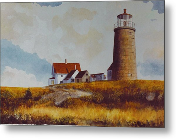 Monhegan Light Metal Print