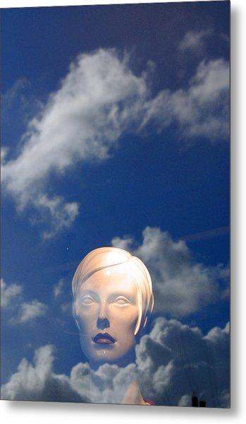 Monica In The Clouds 2 Metal Print by Jez C Self