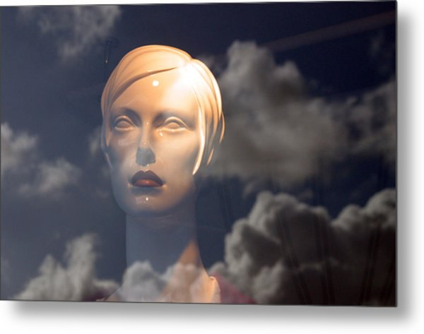 Monica In The Clouds Metal Print by Jez C Self